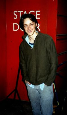James McAvoy at the stage door during Breathing Corpses - read the full blog of fan encounter in 2005 at http://theuglybugball.wordpress.com/2011/02/11/stage-door-2-james-mcavoy/#