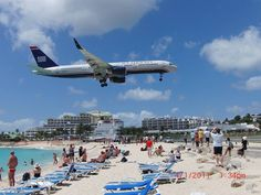 Maho Beach, St. Maarten. Been there, done that..... loved it.... Where we stayed ...the maho, love ramone the bartender