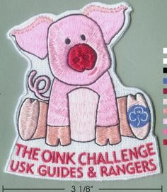 The oink challenge badge