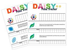 This Daisy Tracker is in PDF format to make it easier to work with. You simply have to write in the names of the girls. If you are looking for a digital copy to format, download the separate Word document. This tracker allows troop leaders to document petal and leaf requirements for each girl.
