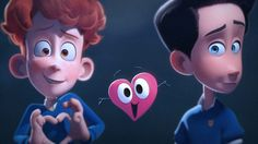In a Heartbeat es un cortometraje que muestra la historia infantil de un niño que se enamora de otro niño.