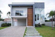 Navegue por fotos de Casas modernas: Fachada. Veja fotos com as melhores ideias e inspirações para criar uma casa perfeita.