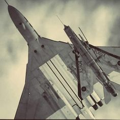 Military Jets, Military Aircraft, Fighter Aircraft, Fighter Jets, Spitfire Model, F35 Lightning, V Force, Avro Vulcan, Airplane Design