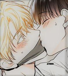 Cute Anime Profile Pictures, Matching Profile Pictures, Cute Anime Pics, Anime Love Couple, Cute Anime Couples, Cute Gay Couples, Anime Art Girl, Anime Guys, 19 Days Manga Español