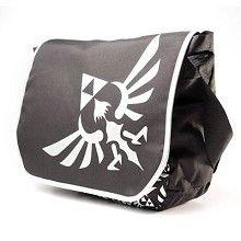 Schoudertas met Zelda logo zwart - Games merchandise Zelda