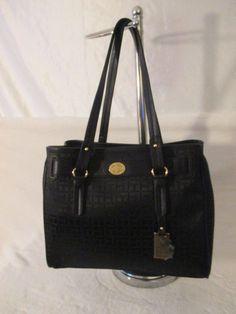 Bag Purse Handbag Tommy Hilfiger New Color Black Shopper II 6932306-990 #TommyHilfiger #TotesShoppers
