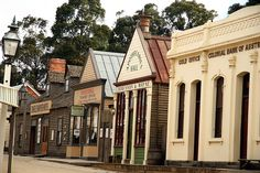 Sovereign Hill, Ballarat - enjoyed it as a child, enjoyed it even more as an adult Enjoy It, Cabin, Mansions, House Styles, Places, Child, Park, Home Decor, Boys