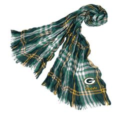 NFL Green Bay Packers Crinkle Scarf, Adult Unisex