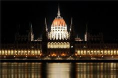 Parliamentary Symmetry, Budapest, Hungary