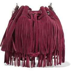 Rebecca Minkoff Fiona fringed shoulder bag (201620 IQD) ❤ liked on Polyvore featuring bags, handbags, shoulder bags, burgundy, fringe purse, shoulder handbags, shoulder hand bags, burgundy handbag and rebecca minkoff