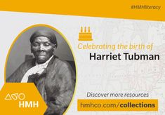 Today is #HarrietTubman's birthday. Explore her #undergroundrailroad with your #ELA #students. Try our free lesson with her biography and text analysis questions.