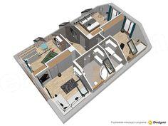 Projekt domu Darlena 143,55 m2 - koszt budowy - EXTRADOM House, Home, Homes, Houses