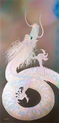 "New photo added to ""All Photos"" Art Buddha, Origami Tattoo, Dragon Artwork, Dragon Pictures, Dragon Tattoo Designs, Dragon Design, Fantasy Dragon, Japan Art, Fantastic Art"