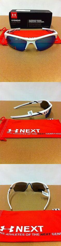 Sunglasses 131411: Under Armour Youth Windup Shiny White Blue Multi Sunglasses Make Offers -> BUY IT NOW ONLY: $59.99 on eBay!