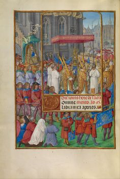 Master of James IV of Scotland (Flemish, before 1465 - about 1541) - Procession for Corpus Christi