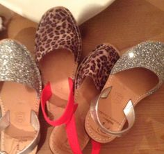 These Silver Glitter & Leopard Print Sandals are the bomb. Beach wear