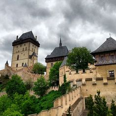Hrad Karlštejn | Karlštejn Castle in Karlštejn, Středočeský