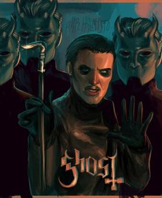 A forum dedicated to the Swedish occult rock band Ghost. Ghost Rock Band, Rock Bands, Hard Rock, Music Rock, Ghost And Ghouls, Ghost Bc, Ghost Photos, Music Is My Escape, Heavy Metal Bands