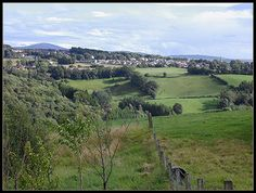 Lanarkshire, Scotland, home of the Hamiltons (Where my Dad's family is from.)