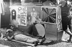 Previously unseen images from Woodstock festival in 1969