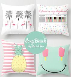 Cojines bonitistas de Rocío Olmo Small Pillows, Cute Pillows, Fluffy Pillows, Diy Pillows, Decorative Pillows, Throw Pillows, Diy And Crafts, Crafts For Kids, Paper Crafts