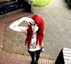 OMG LOVE EMO HAIR! SQEEEEEEEE IMA FAN GIRL <333333