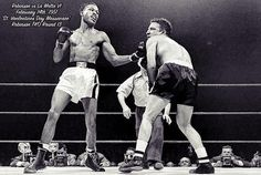 "Sugar Ray Robinson vs Jake La Motta VI - aka ""The St. Boxing Fight, Mma Boxing, Boxing Workout, Sugar Ray Robinson, Boxing Images, Valentines Day Massacre, Professional Boxing, Boxing History, Home Gym Design"