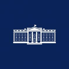 """Creative agency Wide Eye has redesigned the White House logo to symbolise US president Joe Biden's """"desire to bring the country together"""" after Donald Trump. Art Design, Logo Design, Graphic Design, Styles Of Leadership, Star Trek Logo, Architecture Logo, Flat Logo, Dezeen, Home Logo"""