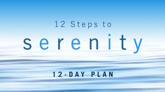 I finished the 12 Steps to Serenity Bible reading plan from @YouVersion! Check it out here: