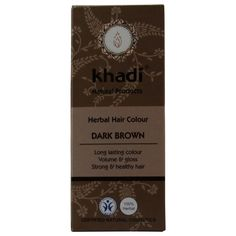 KHADI - Herbal Hair Colour Dark Brown - Long-lasting - 100% herbal ** Click image to review more details. (This is an affiliate link and I receive a commission for the sales)