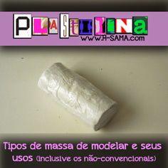 Plastilina ( tipos e usos) Inclusive os não-convencionais em fantasias, esculturas e cosplays