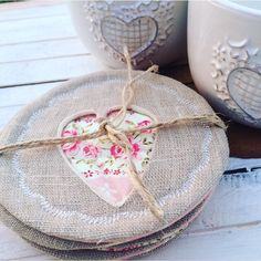 SPRING SALE! Mother's Day gift set linen coasters, embroidery, tea rose, spring sale, made & designed in Italy, shabby chic, home decor kitchen coffee  #giftset #etsy #housewares #madeinitaly #springsale #mothersday #teaparty #linen #floraldecor #linencoasters