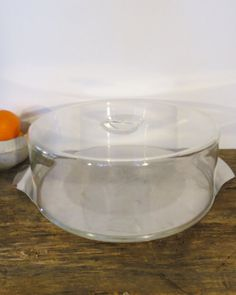 Mid-Century Modern Cake Plate Saver With by PrairieVintageFinds & Vintage plastic cake stand | Very VTG Kitchen Clear ~ Plastic ...