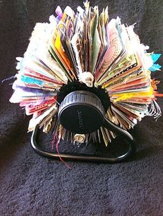 You were the one to go to at work in the old days if your rolodex looked like this--pre-computers, haha!  This would have actually been considered being organized!