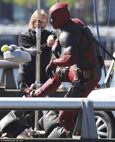 Ryan Reynolds watches stunt double on set after hit-and-run accident Deadpool Costume, Deadpool Movie, Stunt Doubles, Old Watches, Ryan Reynolds, Screenwriting, On Set, Kicks, Actors