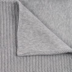 knit and crochet baby blanket at GAUFRIER Blanket  1