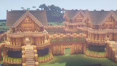 So i built a wooden survival house on my minecraft world Chalet Minecraft, Château Minecraft, Construction Minecraft, Casa Medieval Minecraft, Minecraft Welten, Minecraft House Plans, Minecraft Houses Survival, Minecraft Cottage, Easy Minecraft Houses