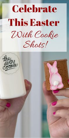 Easter Cookie Shots to Start Your Spring 🌸 Easter Gift For Adults, Easter Baskets For Toddlers, Easter Baskets To Make, Baby Easter Basket, Easter Desserts, Easter Treats, Cookie Desserts, Healthy Desserts, Cookie Designs