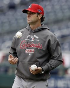 Mike Matheny <3 My dad has done business with him when he worked for the bank and said he is an amazing, professional and respectable guy. I would LOVE to meet him. And he is sexy ;)