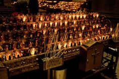 Candle Offerings St. Patrick Cathedral