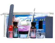 Mia Secret Professional Nail System Acrylic Kit -- More info could be found at the image url. (This is an affiliate link) #NailDecalsandDecorations
