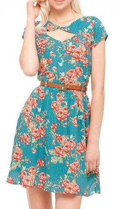 Quero! Corujas e Flores Azul #lavemosol