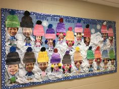 Easy Christmas Classroom Decorations you'll have to check out before you scroll up Preschool Christmas, Christmas Crafts, Preschool Winter, Winter Art Kindergarten, Christmas Presents For Men, Christmas Trees, Winter Bulletin Boards, January Bulletin Board Ideas, Boarders For Bulletin Boards