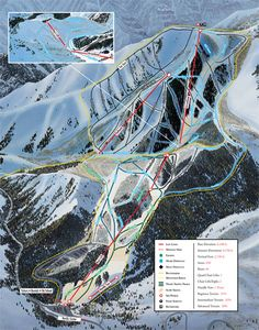 Trail Map | Sundance Resort Country Maps, Birth Of Jesus, Trail Maps, Map Art, Park City, Daydream, Utah, College, Spaces