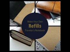 Make Your Own Midori Traveler's Notebook Refills - Mimi Gaylor's Poochie Baby