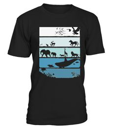 Animals Into the Wild T shirt