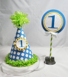 1st Birthday Smash Cake Topper