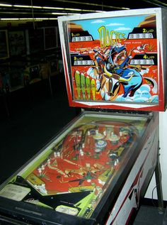 Dogies pinball machine made by Bally in 1967 Arcade, Video Game Machines, Pinball Wizard, Pool Tables, Wizards, Jukebox, Old School, Console, Tech