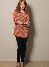Camisa Paula Stripe-Calza Cris