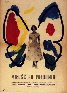 Love in the Afternoon (Billy Wilder, 1957) - Polish poster by unknown artist